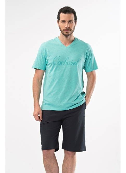 Cacharel Pijama Takım Yeşil